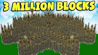 10 BIGGEST MINECRAFT HOUSES EVER!!