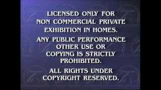 Opening to Rugrats In Paris: The Movie 2001 VHS