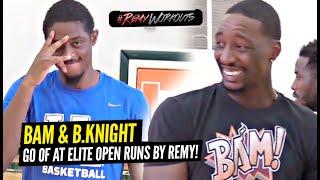 BAM Adebayo & Brandon Knight GO OFF At Elite NBA OPEN Runs!! Remy Runs Miami!!!