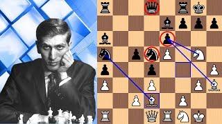 Bobby Fischer vs Mongolian Chess Champion Myagmarsuren | 1967
