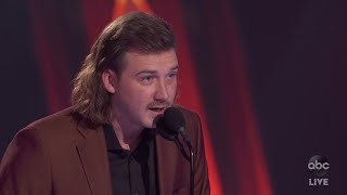 Morgan Wallen Wins New Artist of the Year - The CMA Awards