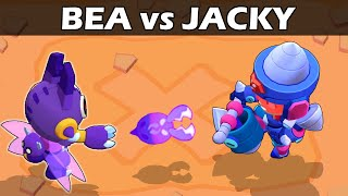 BEA vs JACKY | 1vs1 | 23 Test | Brawl Stars
