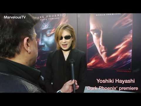YOSHIKI Hayashi at the  Dark Phoenix