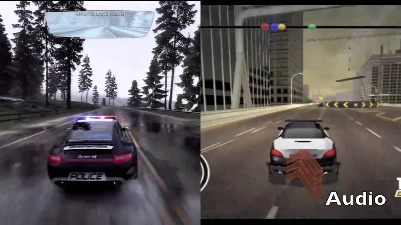 need for speed hot pursuit ps3 vs wii black ops wii. Black Bedroom Furniture Sets. Home Design Ideas