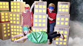 Gotham City Box Fort!