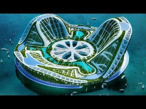 5 strutture sull'acqua più incredibili al mondo