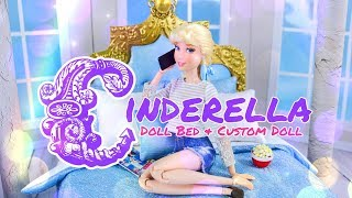 DIY - How to Make: Disney Princess Bed PLUS Made to Move Cinderella