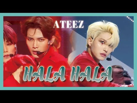 [HOT] ATEEZ - HALA HALA, 에이티즈 - HALA HALA Show Music core 20190302