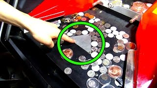 Coin Pushers EXPOSED! This is Why Arcade Coin Pushers Make Money! | Arcade Experiment | Matt3756