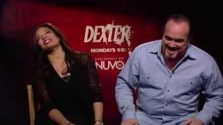 Lauren Velez & David Zayas' Fun Interview   Dexter on NUVOtv