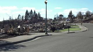 Fire Devastation, Fountaingrove, Santa Rosa, CA - 00061