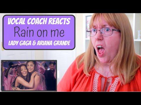Vocal Coach Reacts to Lady Gaga & Ariana Grande 'Rain on me'