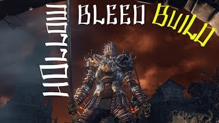 Dark Souls 3 - Hollow Infused Luck Bleed Build!
