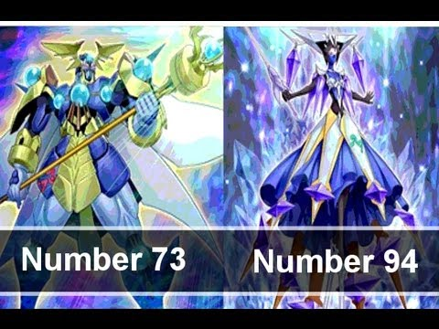 Yugioh Number 73 Abyss Splash & Number 94 Crystal Zero ...