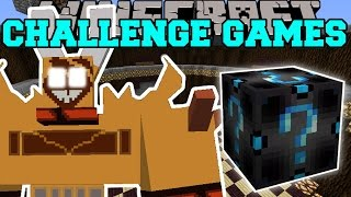 Minecraft: RAGNAROS THE FIRE LORD CHALLENGE GAMES - Lucky Block Mod - Modded Mini-Game