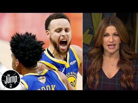 Heart, not talent, sealed the Warriors' Game 2 win vs. the Raptors - Rachel Nichols | The Jump