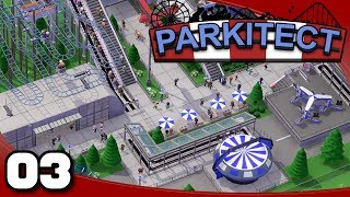 Parkitect - Ep. 3: Chanute Airfield | Parkitect Gameplay