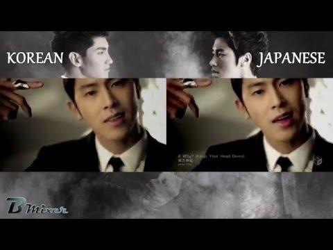 TVXQ! - Keep Your Head Down | Korean - Japanese MV Comparison