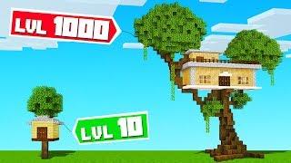 BUILD The BEST CUSTOM TREEHOUSE Challenge! (Minecraft)