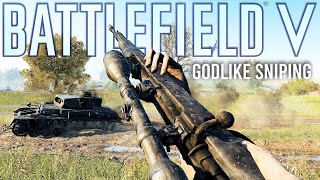 Battlefield 5 got Sniping SO right!