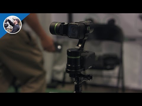 NAB 2016:  LanParte Gimbals, LA3D for GoPro or Smartphones with Wireless Control Unit (4K)