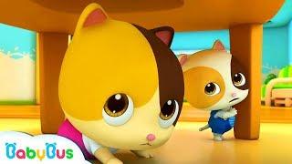 Mèo con gặp động đất | Đội siêu cứu hộ Kiki & Miumiu | Tuyển tập hoạt hình nhạc thiếu nhi | Babybus