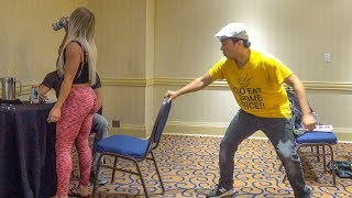 Chair Pulling Prank in Toronto!!!