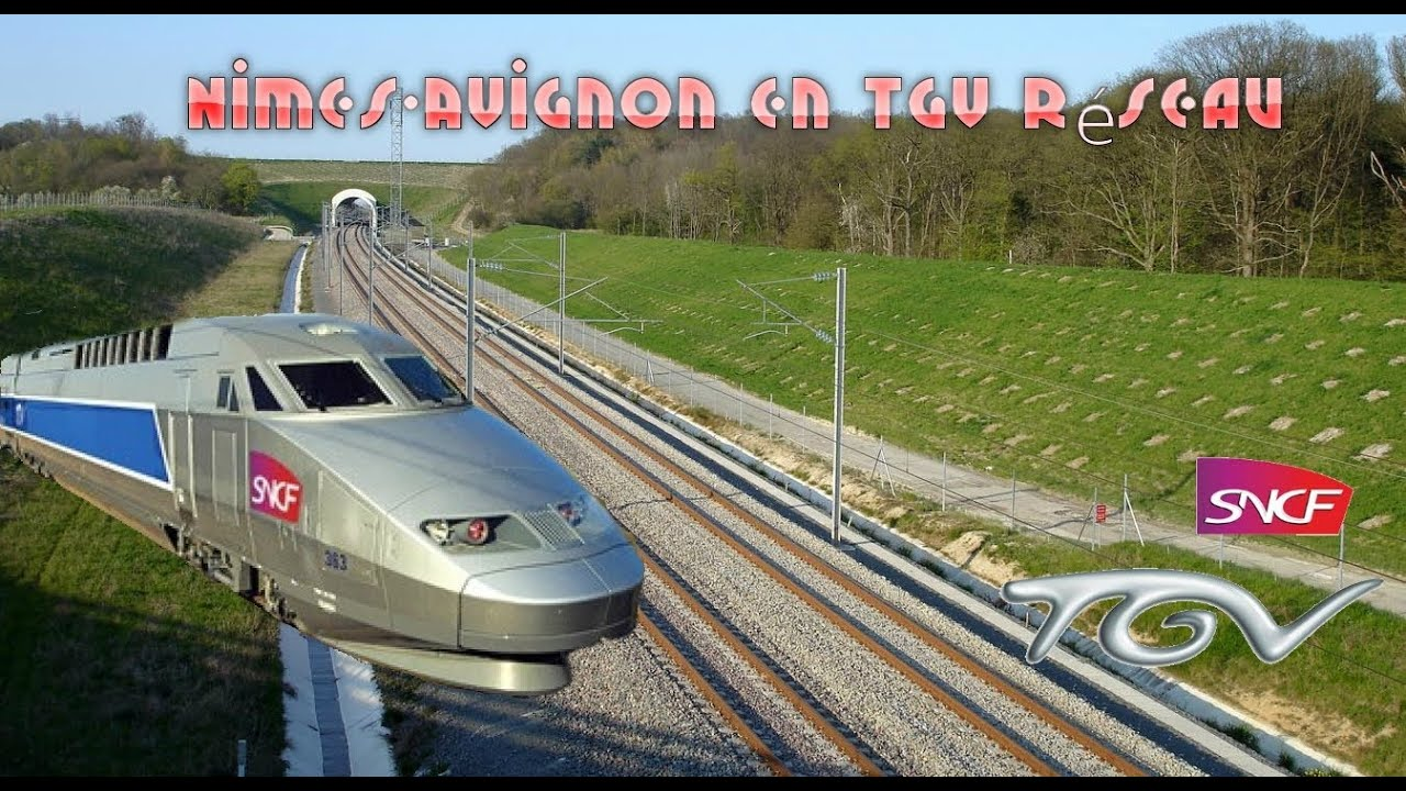 nimes avignon en tgv r seau train simulator youtube. Black Bedroom Furniture Sets. Home Design Ideas