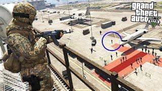 PRESIDENT ASSASSINATION!! (GTA 5 Mods)