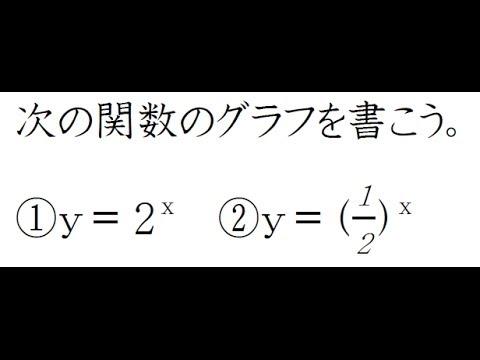 中学 中学英語 現在完了 : 指数関数のグラフ【高校数学Ⅱ ...