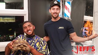 WEIRDEST BARBERSHOP IN THE WORLD - Brother Nature   Jeff's Barbershop