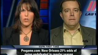 "RJ Bell on ESPN's ""First Take"" (12/4/09)"