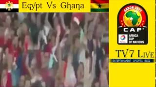 Egypt Vs Ghana Live AFCON 2017 Match Preview 25 January 2017 ...