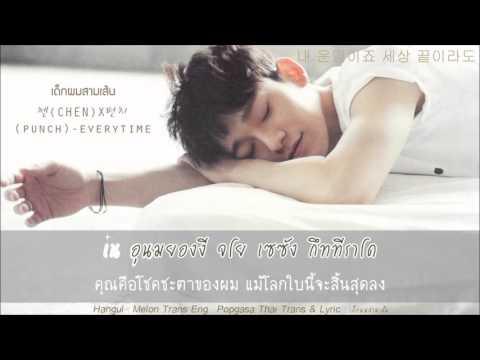 [Karaoke-Thaisub] CHEN (첸) x Punch (펀치) – Everytime