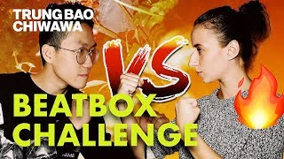 Boyfriend Vs Girlfriend Beatbox Challenge 🔥 (Part 1) - Trung Bao & Chiwawa