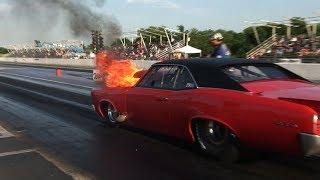 Drag Racing ACTION from Tulsa Raceway Park