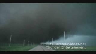 INCREDIBLE wedge tornado video! June 17, 2009, Nebraska!