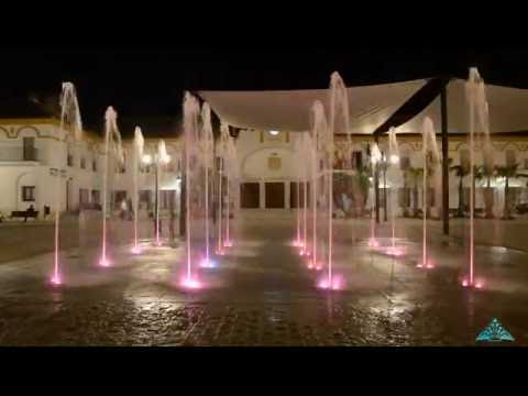 Smart fountain in Palma del Río (Spain) /Fuente inteligente en Palma del Río