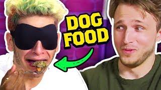 SCHOOL FOOD VS DOG FOOD CHALLENGE (Squad Vlogs)