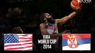 USA 🇺🇸 v Serbia 🇷🇸 - Classic Full Games   FIBA Basketball World Cup 2014