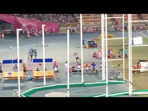 2017世大運 鄭兆村震驚各國代表及觀眾的瞬間2017 World Grand Canal Men's Javelin Finals Zheng Zhaocun shocked the repr