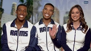 Super Bowl 2019: These male Los Angeles Rams cheerleaders will make history I ABC7