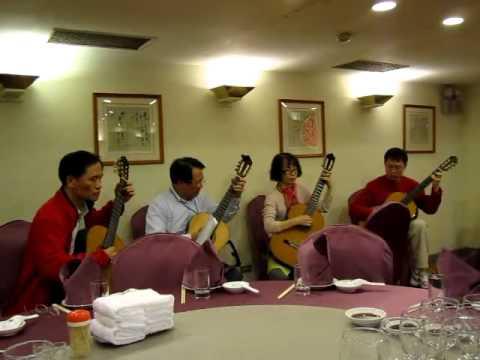 2011 12 04 王有道、黃進丁、林美玲 天廚菜館 - 古老的大鐘 - 02