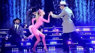 La Pantera Rosa llegó al Bailando y su coreografía fue una pinturita