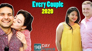 90 Day Fiance All Couples (Season 1 to 7): Together, Separated, Married or Divorced?