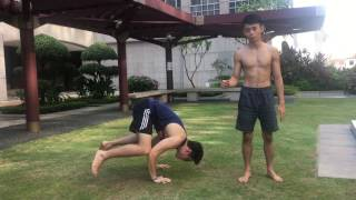 Handstand In 4 Steps | THE CORE CALISTHENICS