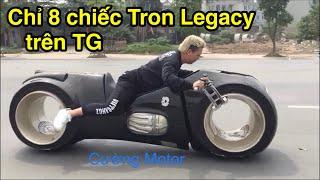 Đức Tào Phớ Vượt mặt Phúc XO mang TronCycle Đầu Tiên lăn bánh trên đường phố Việt Nam - CuongMotor