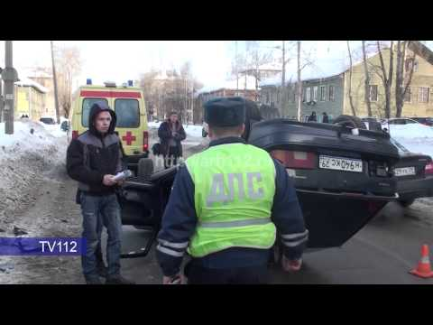 TV112 ДТП на пр Советских Космонавтов в Архангельске 2015 02 16