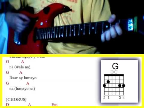 Jeepney by Sponge Cola - Guitar Chords - YouTube - MusicBaby