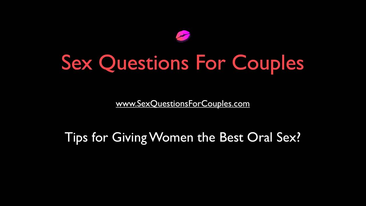 Tips On Giving Good Oral Sex 12